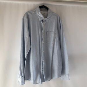 Under armour button down collared shirt heat gear